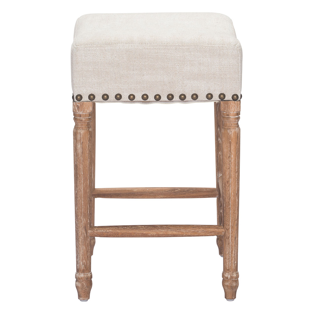 Swell Zuo Era Anaheim Counter Stool Beige Ncnpc Chair Design For Home Ncnpcorg