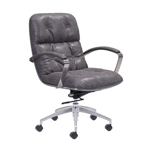 Zuo-Era-Avenue-Office-Chair-Vintage-Gray-100447-1