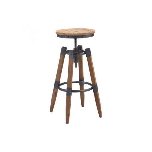 Zuo-Era-Curry-Barstool-Natural-Pine-&-Industrial-Gray-100417-1