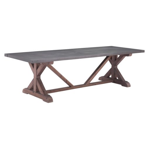 Zuo-Era-Durham-Dining-Table-Gray-&-Distressed-Fir-100500-1