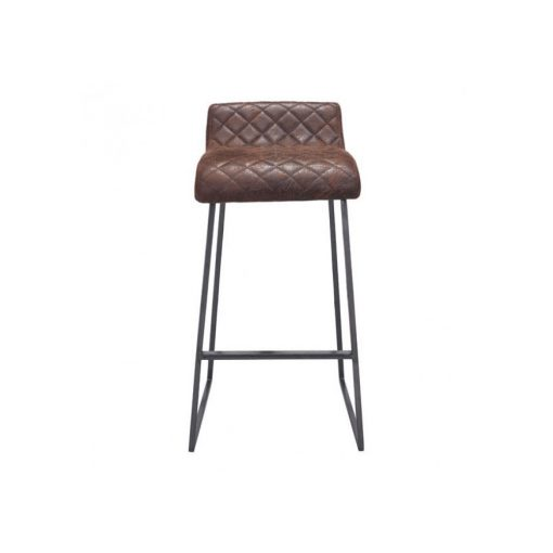 Zuo Era Father Barstool Vintage In Brown Boost Home