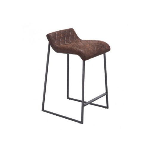 Zuo Era Father Counter Stool Vintage Brown Boost Home