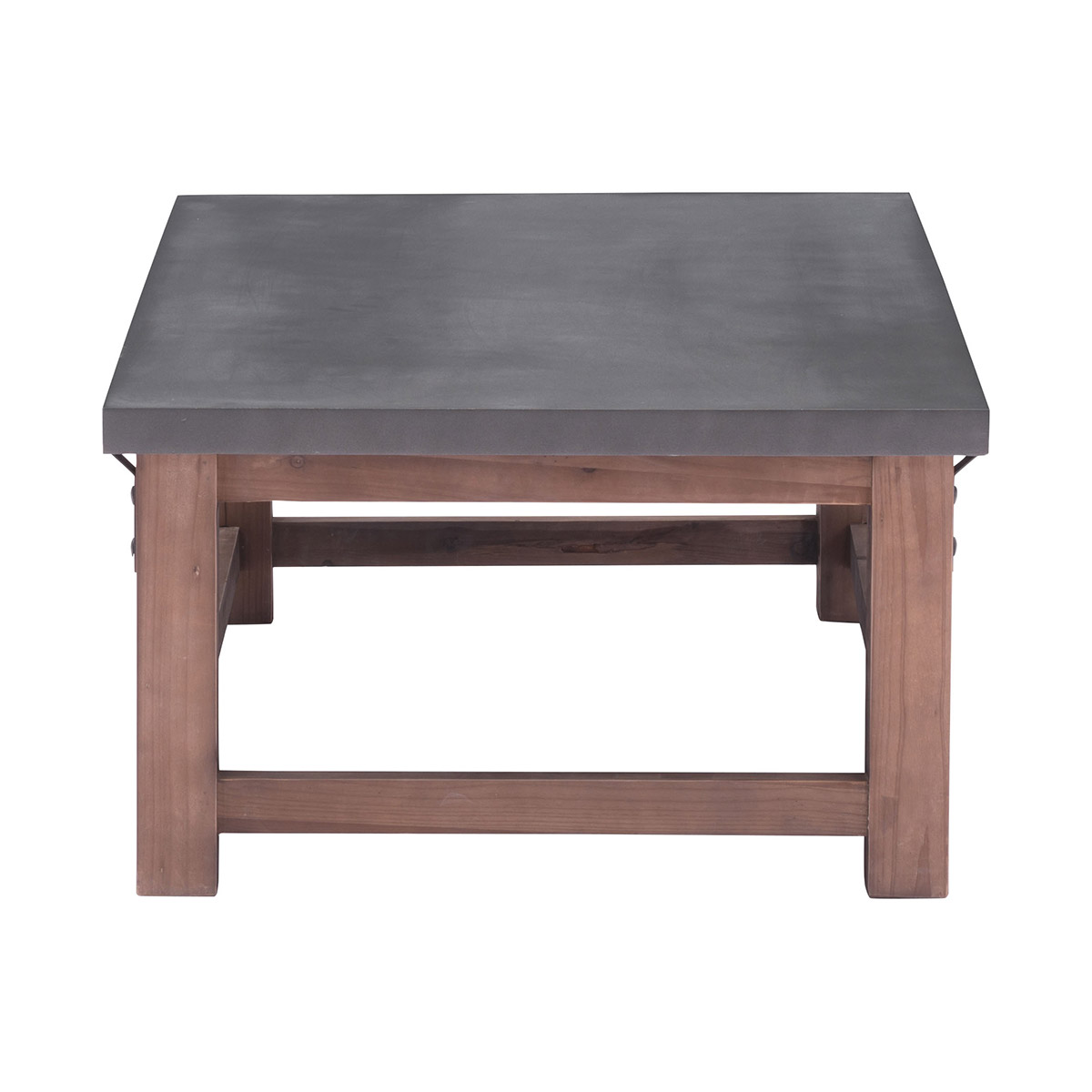 Zuo Era Greenpoint Coffee Table Gray Distressed Fir Boost Home