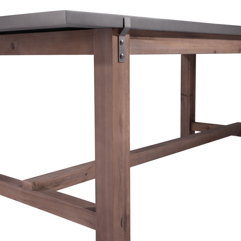 Zuo Era Greenpoint Dining Table In Gray Amp Distressed Fir