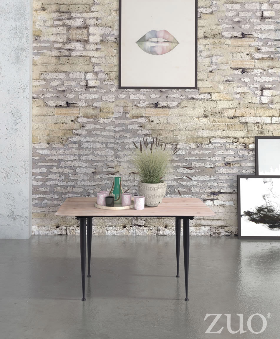 Zuo Era More Coffee Table Distressed Natural Boost Home