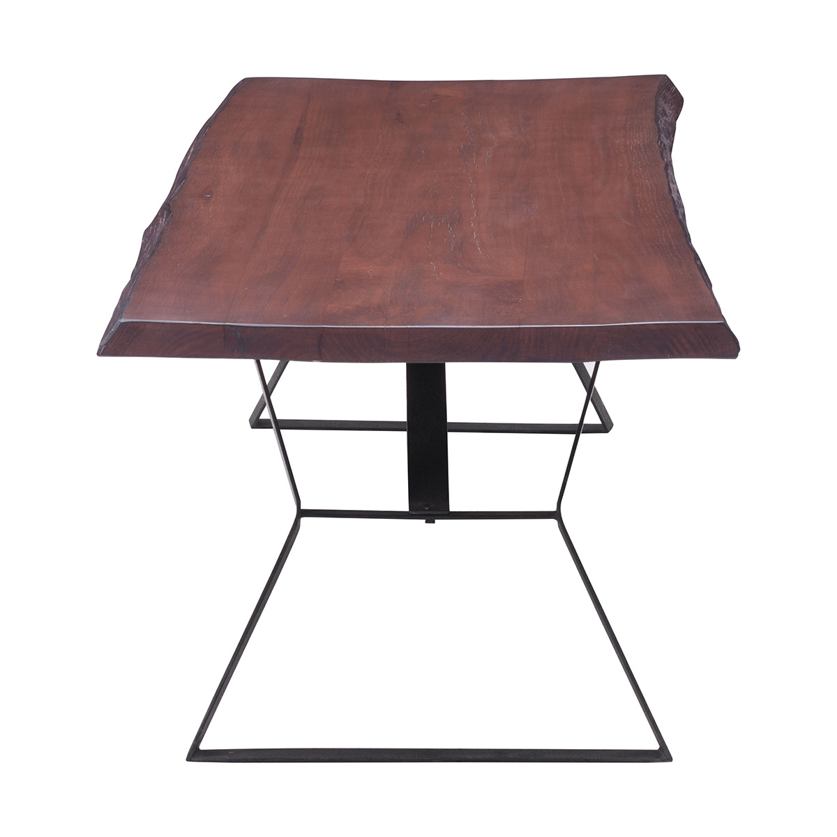 Zuo era omaha coffee table distressed cherry oak boost home for Zuo coffee tables