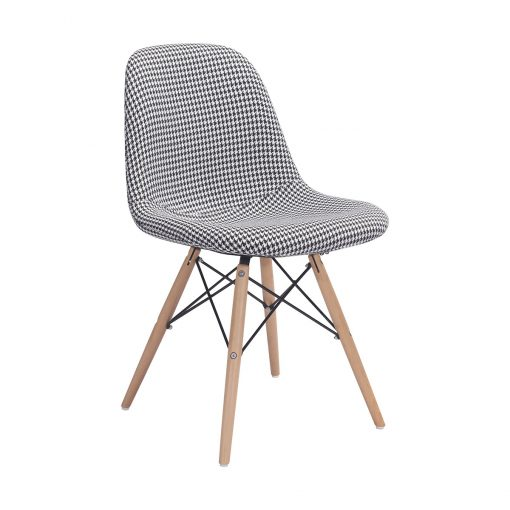 Zuo-Era-Sappy-Dining-Chair-Houndstooth-100510-1