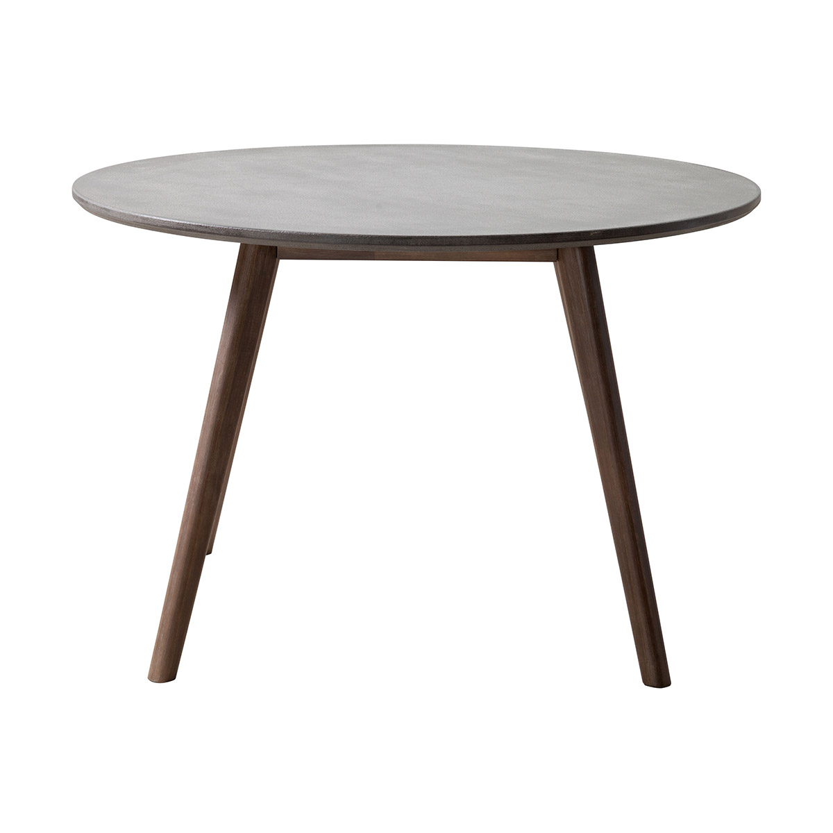 Zuo Elite Patio Dining Table in Cement & Natural