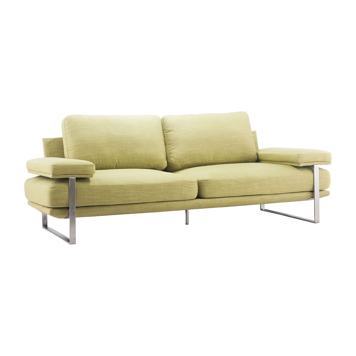 Zuo Jonkoping Sofa In Lime Boost Home