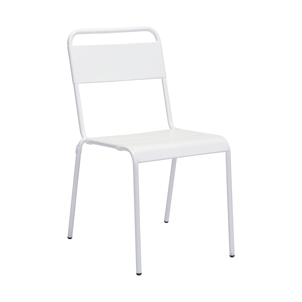 Zuo Oh Outdoor Dining Chair in White