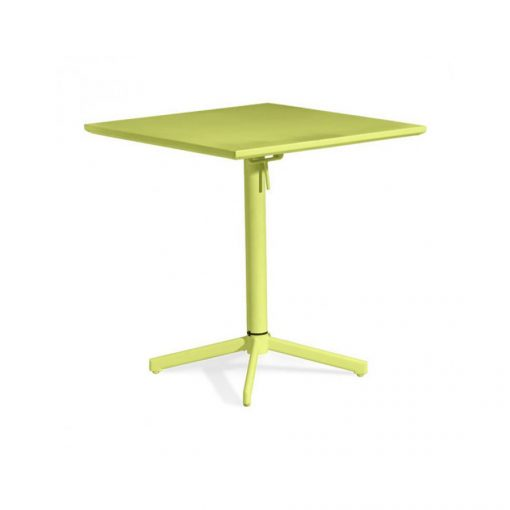 Zuo-Outdoor-Square-Folding-Table,-Lime-Painted-Steel-703042-1