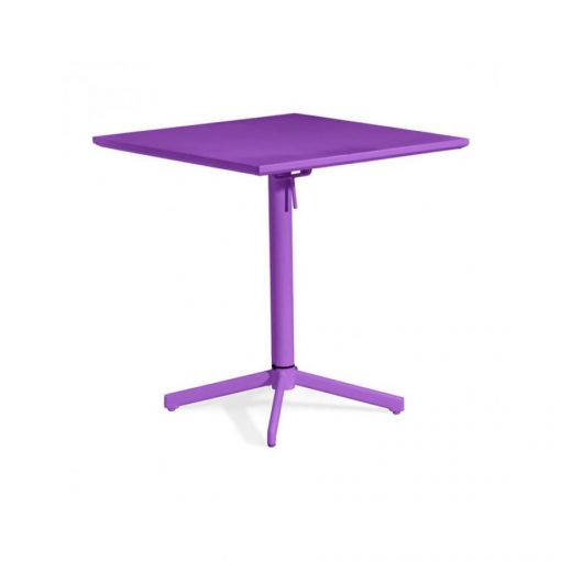 Zuo-Outdoor-Square-Folding-Table,-Purple-Painted-Steel-703041-1