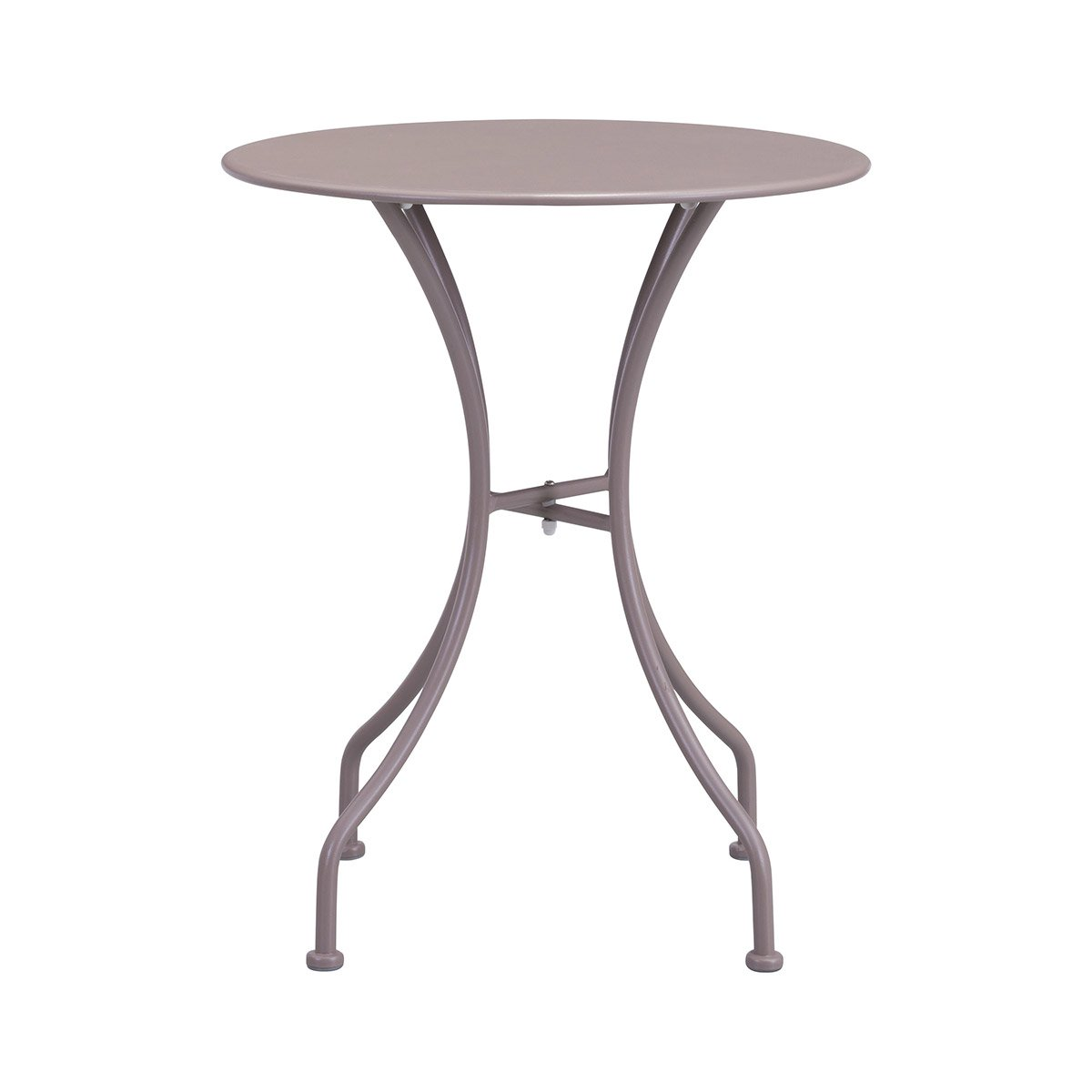 Zuo Oz Patio Dining Round Table In Taupe Boost Home