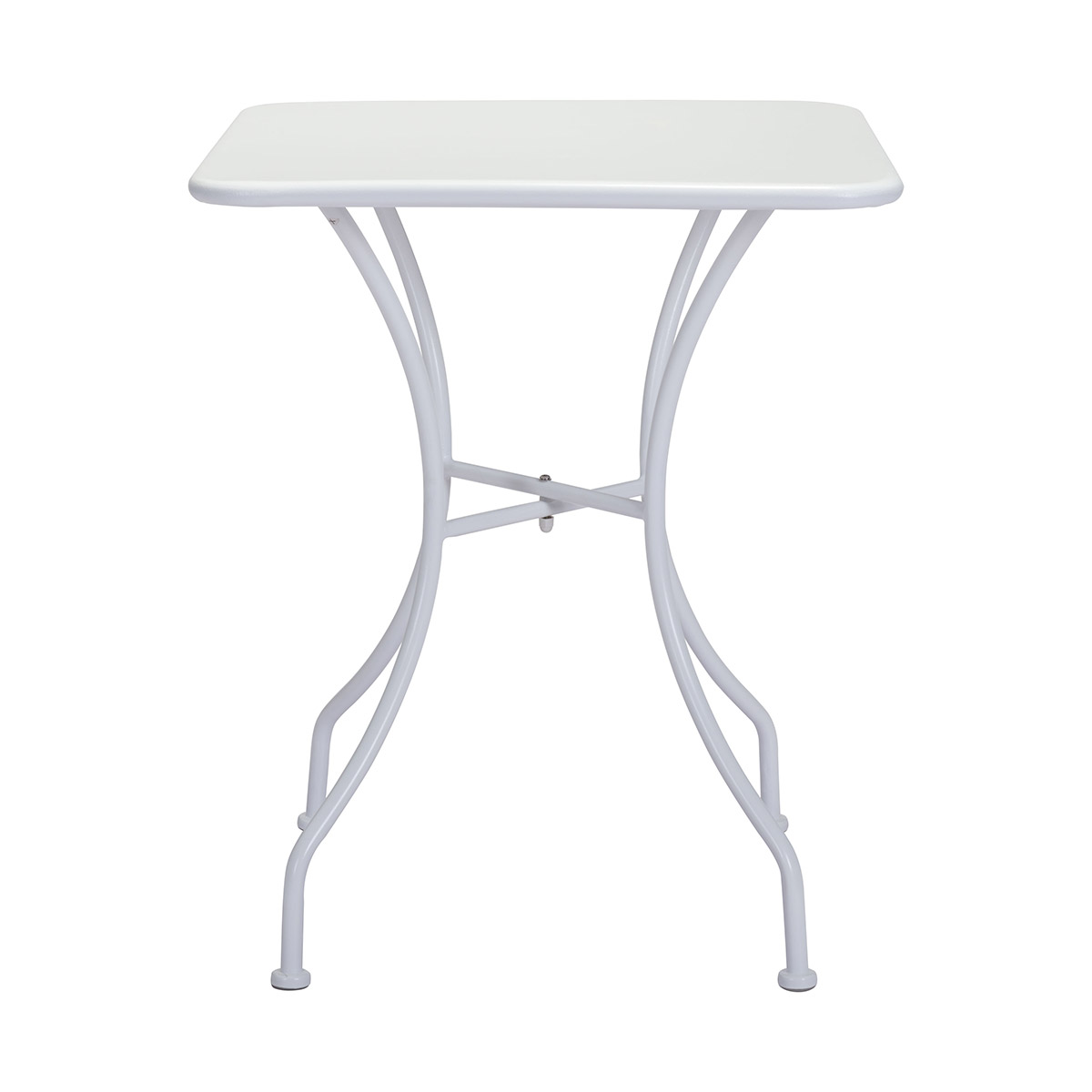 Zuo Oz Patio Dining Square Table In White