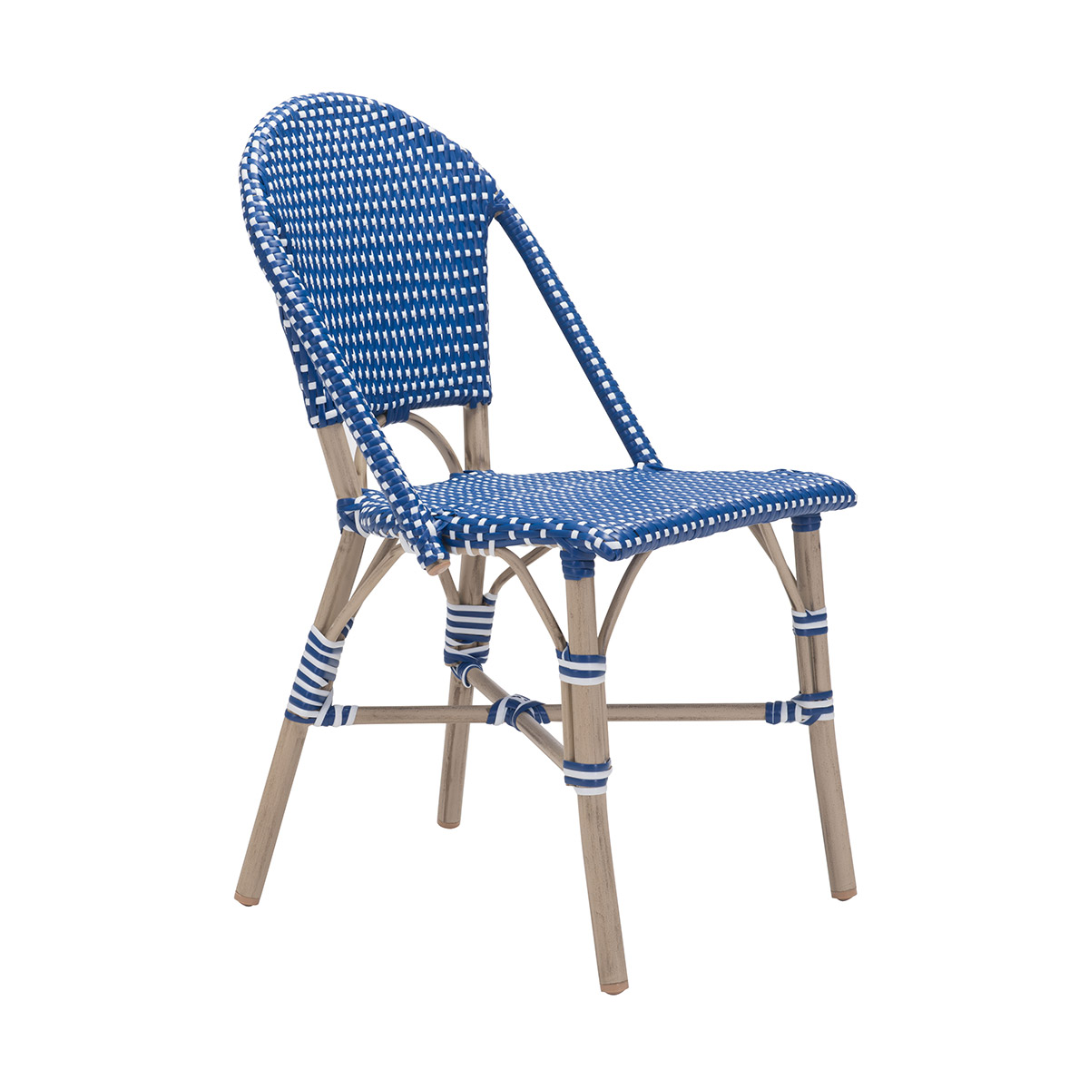 Zuo Paris Dining Chair In Navy Blue