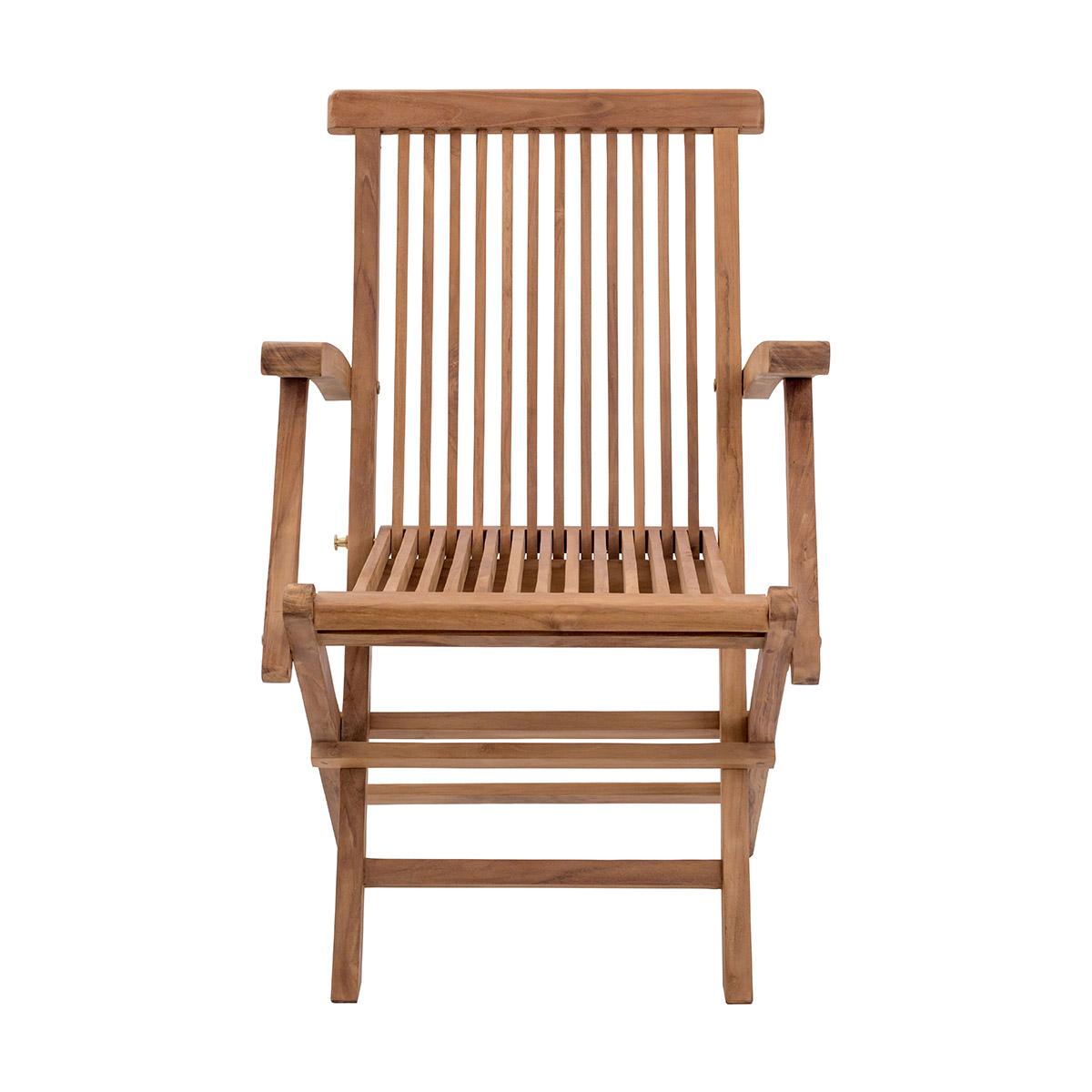 Zuo Regatta Folding Arm Chair Natural