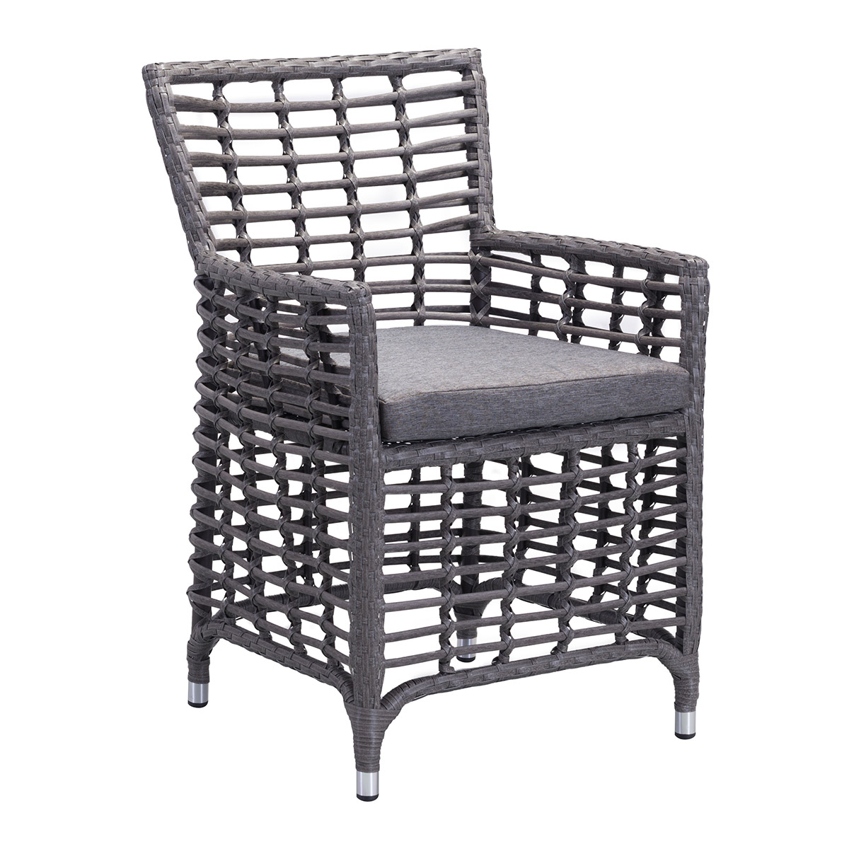 Zuo Sandbanks Sunproof Fabric Outdoor Dining Chair In