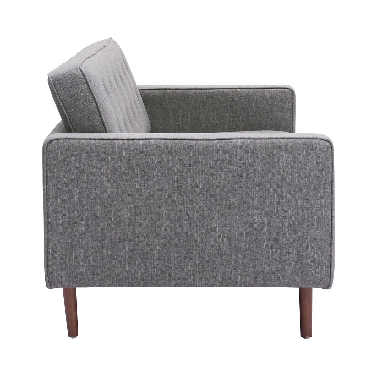 Stupendous Zuo Puget Sofa In Gray Andrewgaddart Wooden Chair Designs For Living Room Andrewgaddartcom