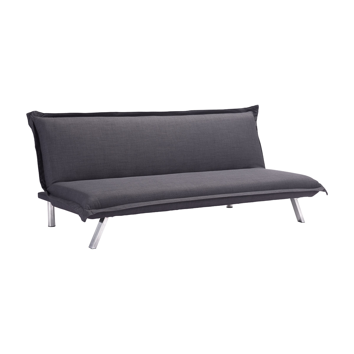 - Zuo Romano Velvet Sleeper Sofa In Quilted Graphite Boost Home